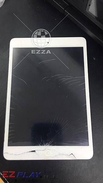 iPad mini面板破裂啦!!