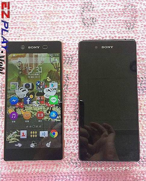 Sony Z3+ 面板破裂華麗變身