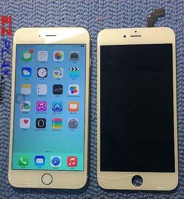 iphone 6不慎滑落面板破