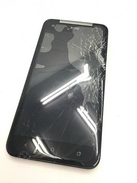 HTC蝴蝶面板破裂