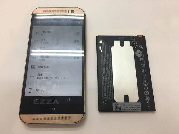 HTC M8電池換不停
