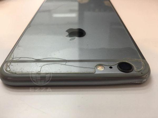 iphone6+摔機導致背蓋凹陷