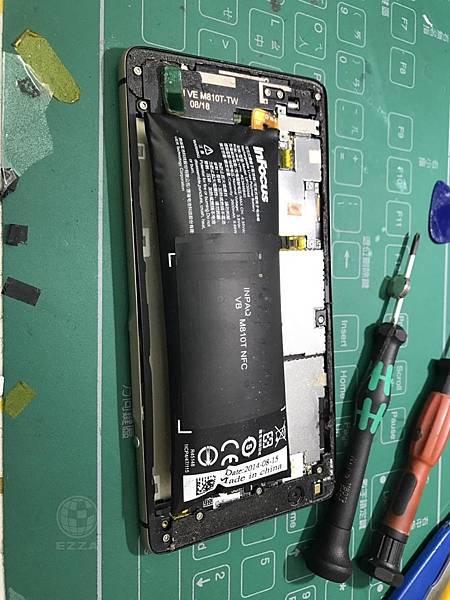 M810電池膨脹