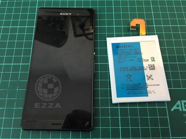 Sony Z3更換電池
