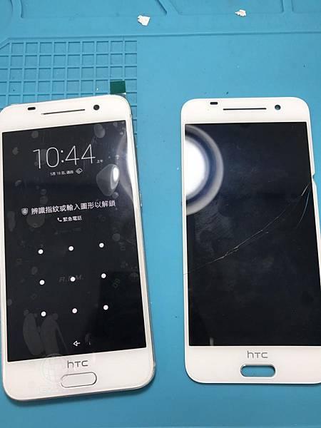 HTC A9液晶破裂