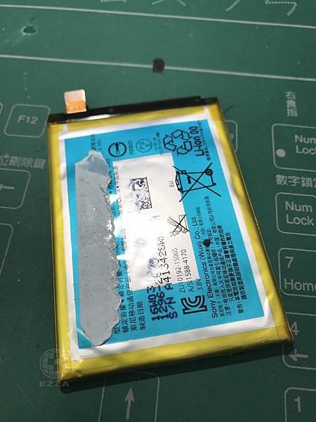 Z5P電池膨脹