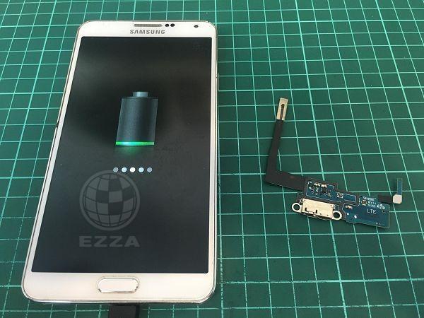 三星N9005充電異常