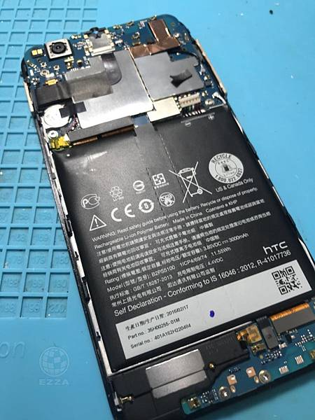 HTC X9電池膨脹