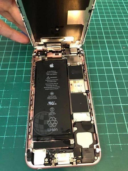 iphone6S掉進馬桶