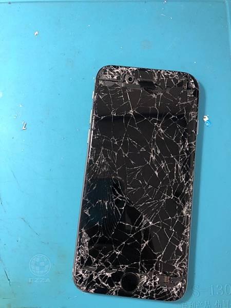 IPHONE6被車輾過了