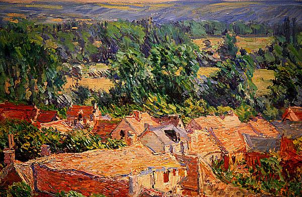 吉維尼的村莊 1881.jpg