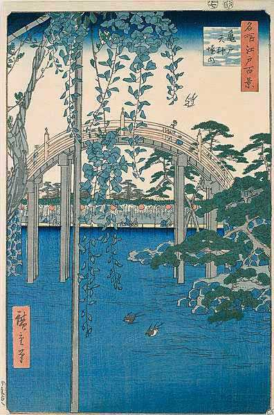 Hiroshige Japanese foot bridge[1].jpg