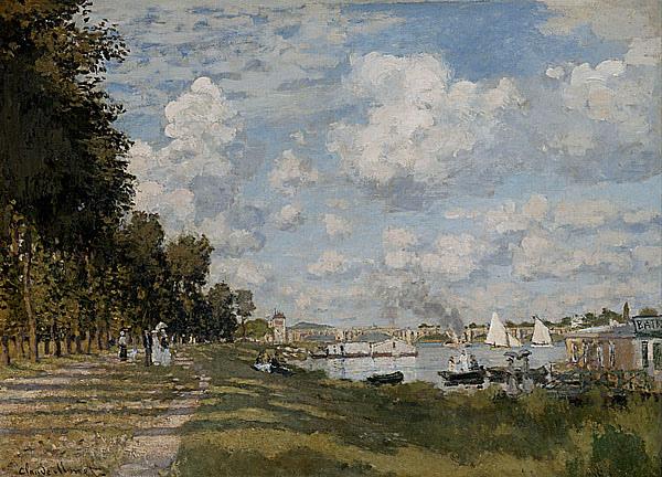 莫內 塞納河風光1872.jpg