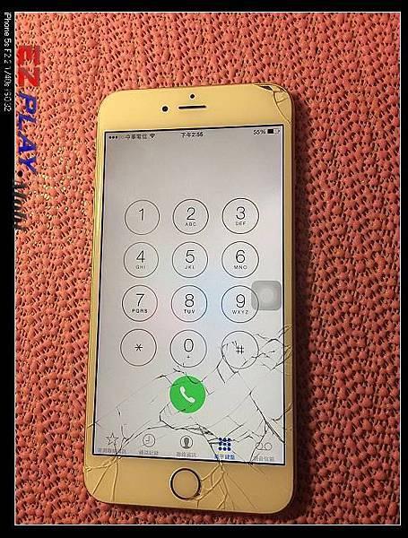 iPhone 6 plus沒摔到為什麼螢幕會破裂