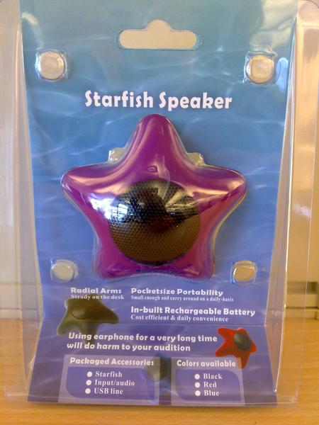 starfish speaker
