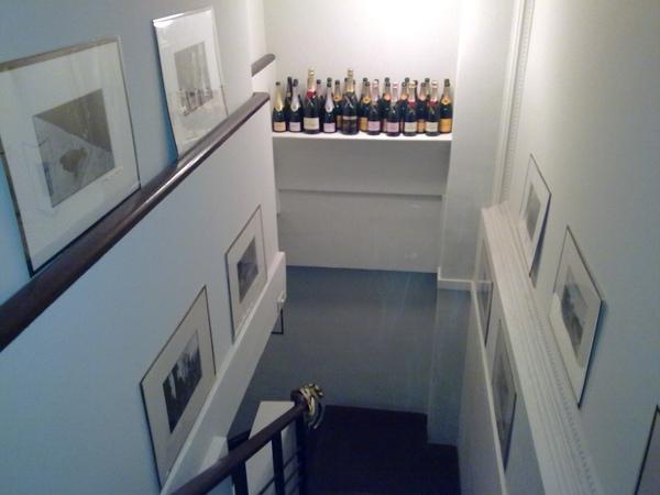 往B1的樓梯
