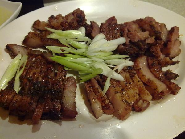 煙燻山豬肉