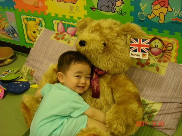 陳威勳 熊熊咱們來抱抱