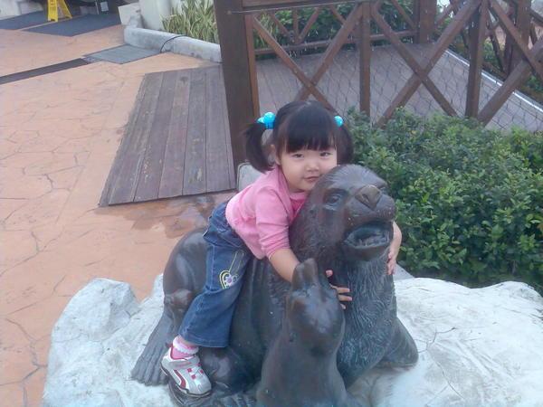 劉穎芯 我最喜歡海獅了