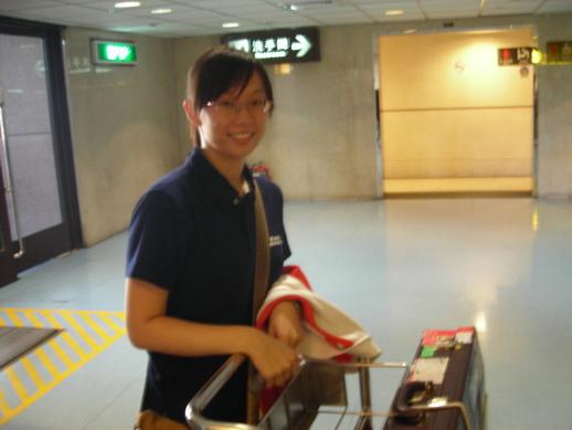 到機場了~!