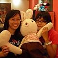 我+兔兔+大頭