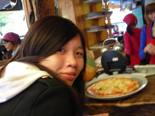 冠婷和她最愛的泡菜