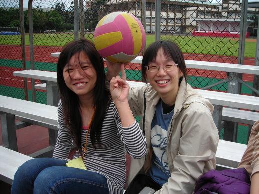 蘿蔔和排球
