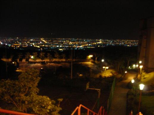 佛光大學的夜景