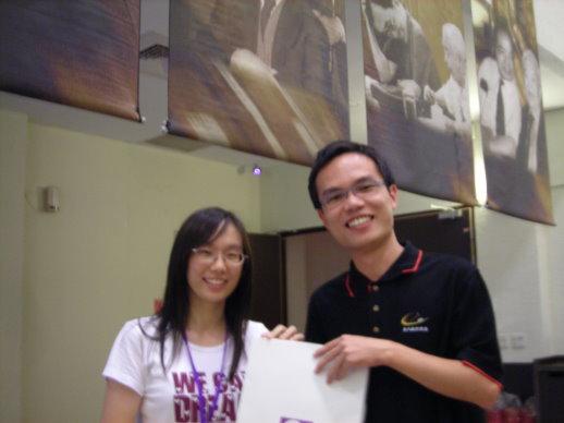 香港同學要送給我們的禮物