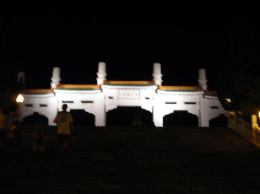 晚上的故宮真的很美