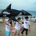 鯨魚好酷~!