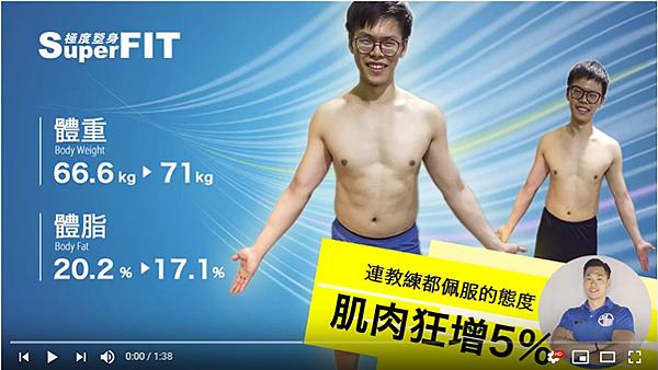 忠孝復興站健身房|造就肌肉狂增5%!朝目標前進-superfit評價