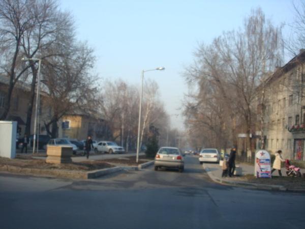 哈薩克街景