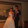 新郎新娘進場囉