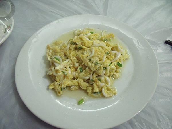 白銀魚炒蛋