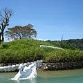 小島上的佈景