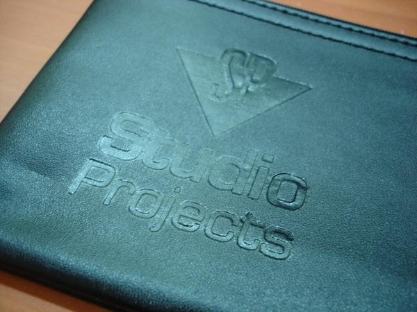 麥克風套上的Studio Projects Mark