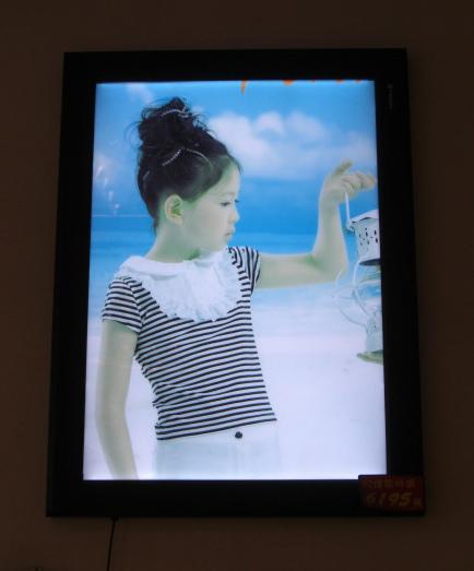 LED 燈箱 - 提燈籠的女孩.JPG