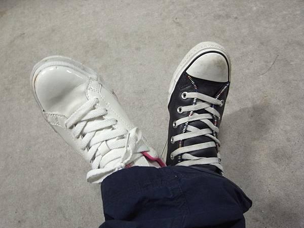 姊姊寄給我的新鞋