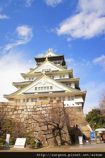 《日本》大阪城天守閣