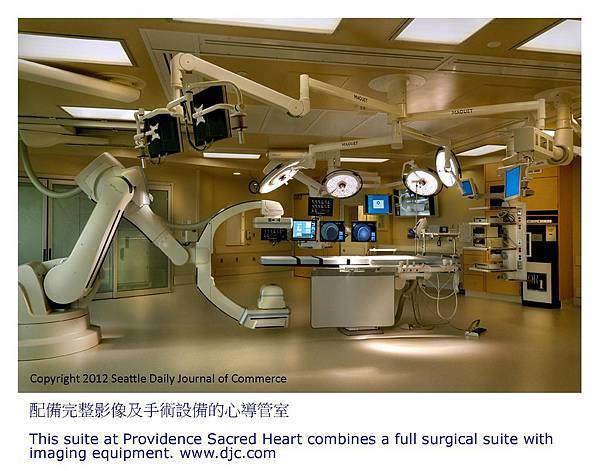 配備完整影像及手術設備的心導管室