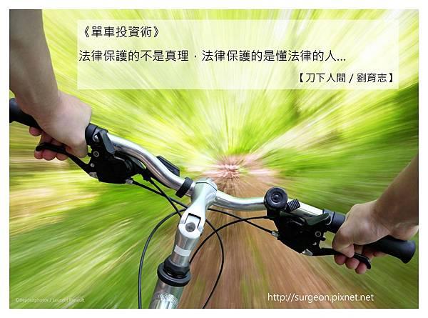 《單車投資術》