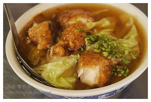 《台南》國華街好味土魠魚羹