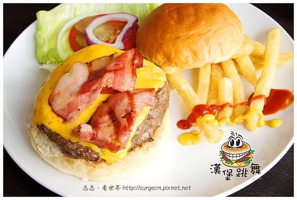 《台南》漢堡跳舞 漢堡 排餐 早餐 調酒 (20)