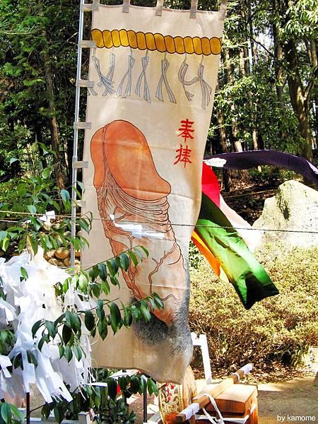 田縣神社-01 Hounen Matsuri-02 © kamome