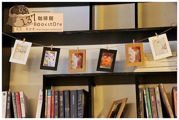 《台南》137 bookstore咖啡館 早午餐 咖啡 (6)