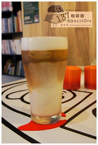 《台南》137 bookstore咖啡館 早午餐 咖啡 (8)