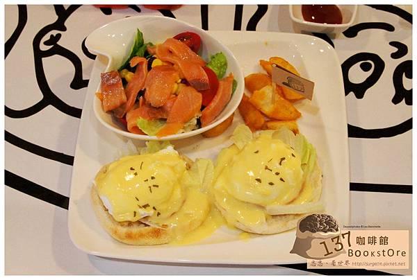 《台南》137 bookstore咖啡館 早午餐 咖啡 (11)