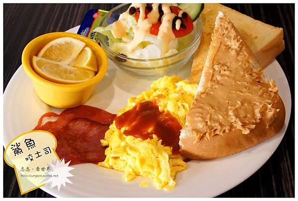 《台南》鯊魚咬土司 早餐 鬆餅 布丁土司 (16)