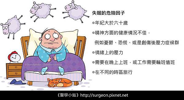 失眠的危險因子